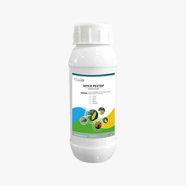 Myco Pestop, bioinsecticide, insecticide, insect control, crop protection, pest management